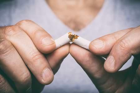 Rauchen sollte man vermeiden