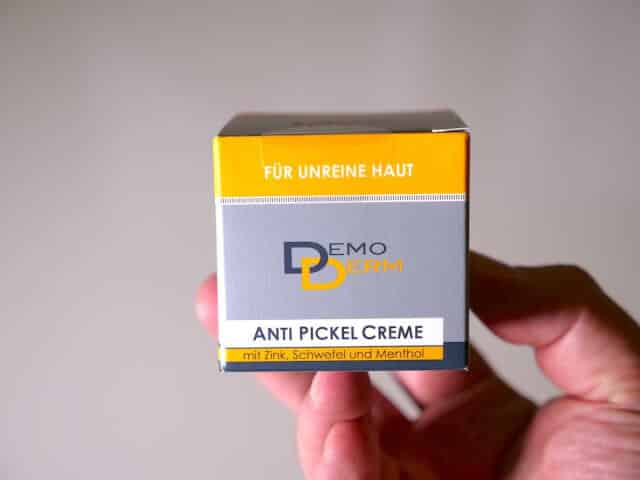 Demoderm Anti Pickel Creme Bild 1