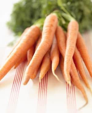 Karotten sind gut für die Zähne